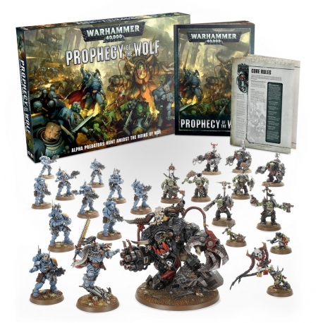 Warhammer 40,000: Prophecy of the Wolf - English