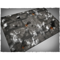 4ft x 6ft, Scorched Sky Theme Mousepad Game Mat