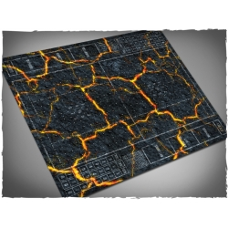 Inferno Themed Blood Bowl Mousepad Game Mat
