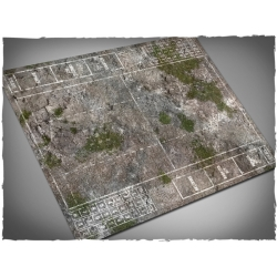 Medieval Ruins Themed Blood Bowl Mousepad Game Mat