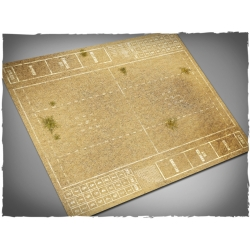 Wild West Themed Blood Bowl Mousepad Game Mat