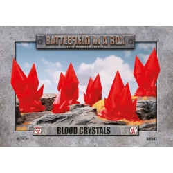 Blood Crystals - Red