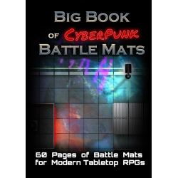 The Big Book of CyberPunk Battle Mats