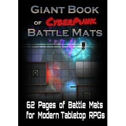 The Giant Book of Cyberpunk Battle Mats