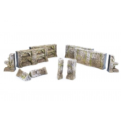 The Elder Scrolls Call to Arms - Nord Tomb Walls Terrain Set