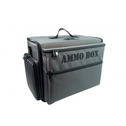 Ammo Box Bag with Magna Rack Slider Load Out (Grey)