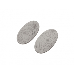 Mosaic Bases, Oval 90mm