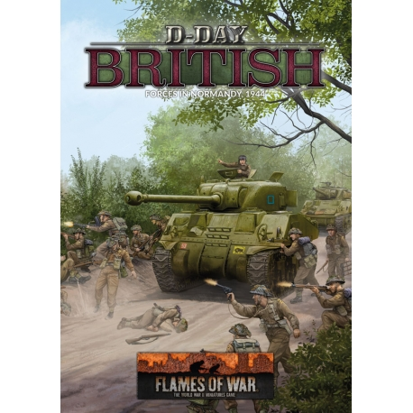 D-Day British (LW 80p A4 HB)