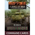 D-Day British Command Cards