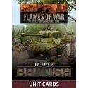 D-Day British Unit Card Pack