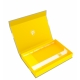 Feldherr Magnetic Box Yellow with 25mm Pick and Pluck Foam for Custom Projects