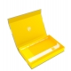 Feldherr Magnetic Box Yellow for Star Wars: Destiny - with Dice Tray