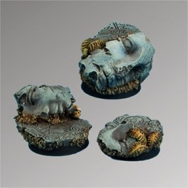 Ancient Ruins 25 mm round bases set2 (3)