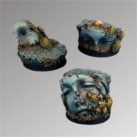Ancient Ruins 25 mm round bases set1 (3)