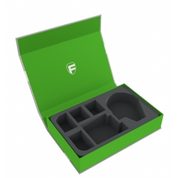 Feldherr Magnetic Box Green for Star Wars X-Wing Millennium Falcon and 4 Ships