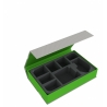Feldherr Magnetic Box Green for Star Wars X-Wing YT-2400 Freighter and 6 Ships