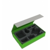Feldherr Magnetic Box Green for Star Wars X-Wing Shadow Caster, 2 Ships and Accessories