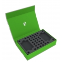Feldherr Magnetic Box Green for Dice Master - 1 Deck and 113 Dice