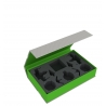 Feldherr Magnetic Box Green for Star Wars X-Wing: Arc-170 + Delta-7 Aethersprite + V-19 Torrent
