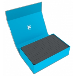 Feldherr Magnetic Box Blue with 60mm Pick and Pluck Foam for Custom Projects