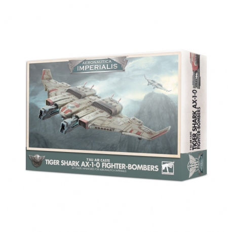 T'au Air Caste Tiger Shark AX-1-0 Fighter-Bomber: Aeronautica Imperialis