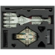 Feldherr Storage Box for Star Wars X-Wing - Empire and Rebels