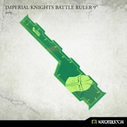 """Imperial Knights Battle Ruler 9"""" - Green"""