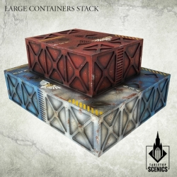 Large Containers Stack