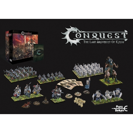 """Conquest """"The last Argument of Kings"""", Two Player Starter Set"""