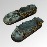 Ancient Ruins 25 mm / 65 mm round bases (2)