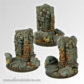 Ancient Ruins 60 mm round fly base