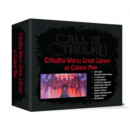 Cthulhu Wars: Great Library at Celaeno Map