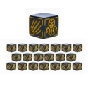 Cthulhu Wars: Gold Cat Battle Dice