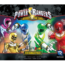Power Rangers: Heroes of the Grid: Zeo Ranger Pack