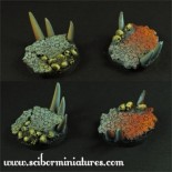 Hell 40mm round bases set 1