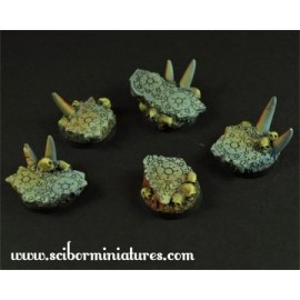 Hell 25mm round bases
