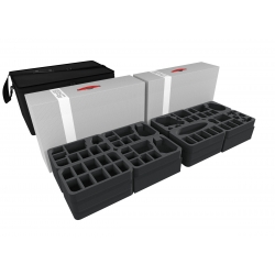 Transporter with 2 Storage Boxes for Star Wars X-Wing Empire and Rebels