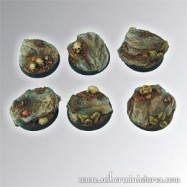 Rocky 25 mm round bases (5)