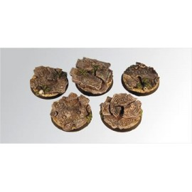 Ruins 40 mm round bases (2)