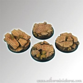 Ruins 40 mm round edge bases
