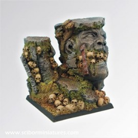 Squalid Ground Square Base 50mm