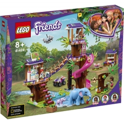 Jungle Rescue Base LEGO® Friends 41424