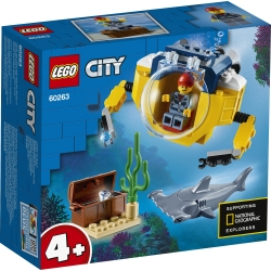 Ocean Mini-Submarine LEGO® City 60263