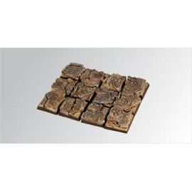 Ruins 20mm square bases (5)