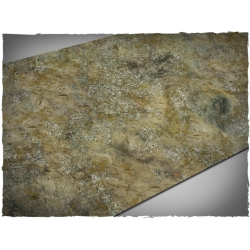 44in x 90in, Urban Wasteland Theme Cloth Games Mat