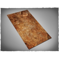 44in x 30in, Red Planet Theme Cloth Games Mat
