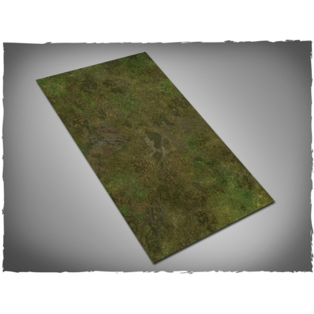 44in x 30in, Muddy Fields Theme Mousepad Games Mat