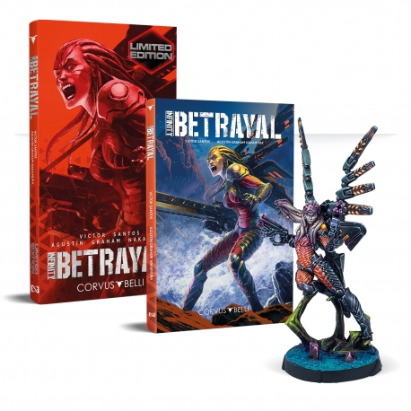 Infinity: Betrayal Graphic Novel Limited Edition - Spanish