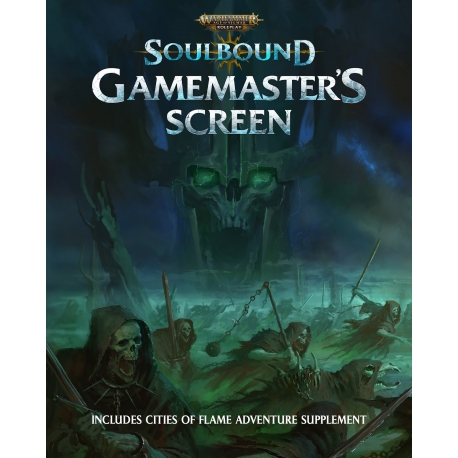 Warhammer Age of Sigmar Roleplay: Soulbound Gamemaster's Screen