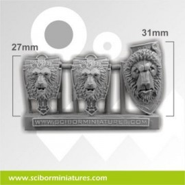 Lion Shields set 1